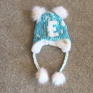 "NWT  JUSTICE  Winter Hat  ""E"""